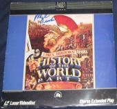 Mel Brooks Actor Movie Director Signed History Of The World Part 1 Laser Disc