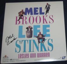 "Mel Brooks Actor Movie Director Signed ""life Stinks"" Laser Disc Album"