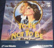 Mel Brooks Actor Movie Director Signed To Be Or Not To Be Laser Disc Album