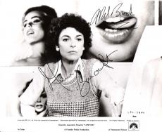 "MEL BROOKS & ANN BANCROFT ""LIPSTICK"" MEL and ANN was Married for 40 Years - ANN Passed Away in 2005 Signed 10x8 B/W Photo"