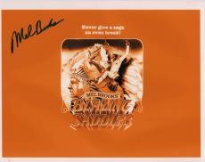 Mel Brooks Autographed Signed 11x14 Blazing Saddles Photo AFTAL