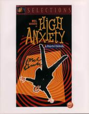 Mel Brooks Autographed Signed 11x14 High Anxiety Photo AFTAL