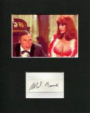 Mel Brooks Blazing Saddles Governor Lepetomane Signed Autograph Photo Display