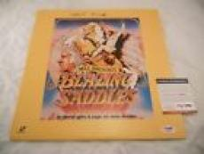 Mel Brooks Blazing Saddles Signed Autographed Laser Disc PSA Certified