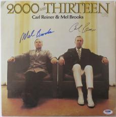 Mel Brooks & Carl Reiner Signed Auto 2000 And Thirteen Album PSA/DNA #V90247