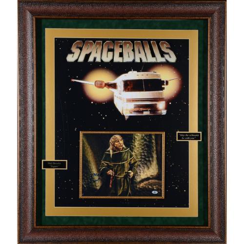 "Mel Brooks Framed Autographed 43"" x 37"" Spaceballs Movie Collage - BAS"