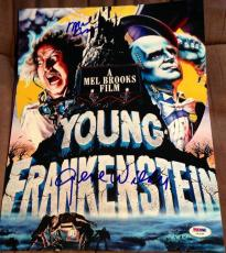 Mel Brooks Gene Wilder Signed Autograph Young Frankenstein Photo Psa/dna Y63364