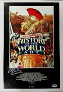 MEL BROOKS Signed 11x17 Canvas Photo HISTORY OF THE WORLD PT.1 PSA/DNA W52878