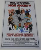 Mel Brooks Signed 12x18 Photo High Anxiety Poster Autograph Proof Psa