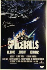 MEL BROOKS Signed 12x18 Photo SPACEBALLS Director Autograph w/ JSA COA