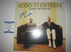 MEL BROOKS Signed 2000 and THIRTEEN Album Cover w/ Beckett COA