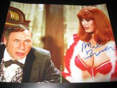 MEL BROOKS SIGNED AUTOGRAPH 8x10 PHOTO BLAZING SADDLES PROMO IN PERSON COA NY X7