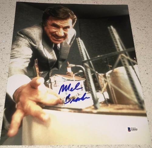 Mel Brooks Signed Autograph Classic Scene Comedy Legend 11x14 Photo Proof Bas E