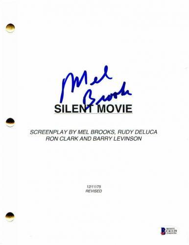 Mel Brooks Signed Autograph - Silent Movie Script - Paul Newman, Liza Minnelli