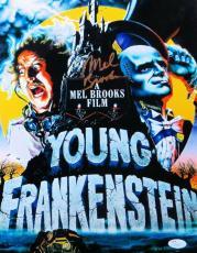 Mel Brooks Signed Autographed 11X14 Photo Young Frankenstein JSA S79346