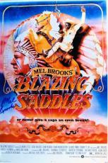 Mel Brooks Signed Autographed 12X18 Photo Blazing Saddles Poster JSA S79334