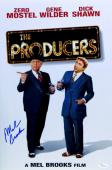 Mel Brooks Signed Autographed 12X18 Photo The Producers Poster JSA U76350