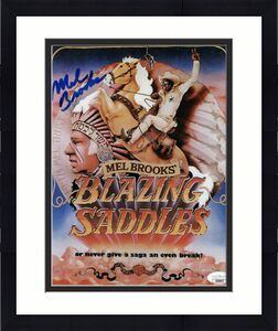 Mel Brooks Signed Autographed 8X10 Photo Blazing Saddles Director JSA GG68697