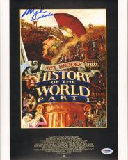 """MEL BROOKS Signed Autographed """"History Of The World"""" 11x14 Photo PSA/DNA AB63517"""