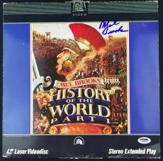 Mel Brooks Signed Autographed History Of The World Album PSA/DNA
