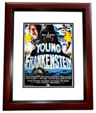 Mel Brooks Signed - Autographed Young Frankenstein 11x14 inch Photo MAHOGANY CUSTOM FRAME - Guaranteed to pass PSA or JSA