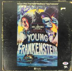 Mel Brooks Signed Autographed Young Frankenstein Album Disc PSA/DNA
