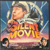 Mel Brooks Signed Autographed Silent Movie Vinyl Record Sleeve PSA/DNA