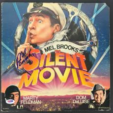 Mel Brooks Signed Autographed Silent Movie Vinyl Record Sleeve PSA/DNA