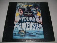 """MEL BROOKS signed autographed """"YOUNG FRANKENSTEIN"""" LP RECORD BECKETT COA! BAS!"""