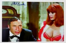 MEL BROOKS SIGNED Blazing Saddles 11x17 CANVAS PHOTO PRINT PSA/DNA