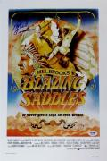 MEL BROOKS SIGNED Blazing Saddles 11x17 CANVAS PHOTO PRINT PSA/DNA B