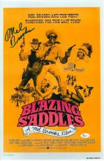 Mel Brooks Signed Blazing Saddles Autographed 11x17 Mini Poster JSA #R98240