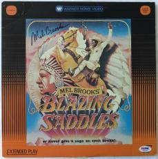 Mel Brooks Signed Blazing Saddles Autographed Laser Disc (PSA/DNA) #K16631