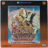 Mel Brooks Signed Blazing Saddles Autographed Laser Disc (PSA/DNA) #K16631