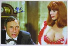 Mel Brooks Signed Blazing Saddles Movie Poster 12x18 Photo Auto PSA/DNA COA