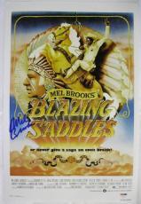 Mel Brooks Signed Blazing Saddles Movie Poster 12x18 Photo Autograph PSA/DNA COA