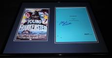 Mel Brooks Signed Framed 16x20 Script & Photo Display Young Frankenstein