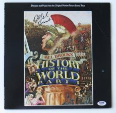 Mel Brooks Signed History of the World Vinyl Record Album (PSA/DNA) #U99605
