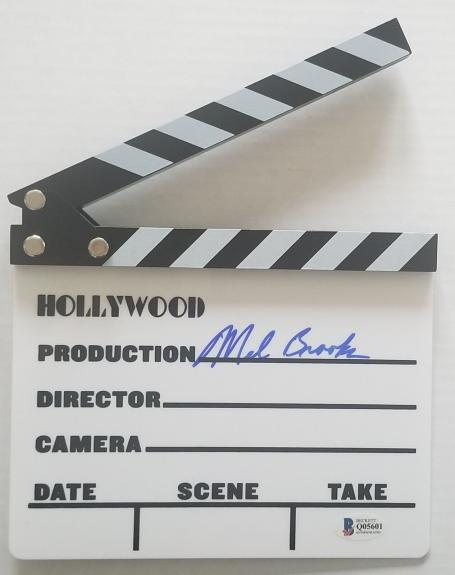 MEL BROOKS Signed Hollywood Production Board Clapper AUTO BAS COA