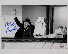 Mel Brooks Signed Original 8x10 Photo Auto PSA/DNA W40600 COA Autograph
