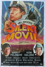 Mel Brooks Signed Silent Movie Autographed 24x36 Movie Poster PSA/DNA #W98781