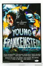 Mel Brooks Signed Young Frankenstein Autographed 11x17 Mini Poster JSA #R98241