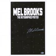 "Mel Brooks Space Balls Autographed 12"" x 18"" Movie Poster - BAS"