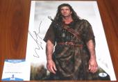 Mel Gibson Signed 11x14 Braveheart Oscar Winner Mad Max BAS Beckett
