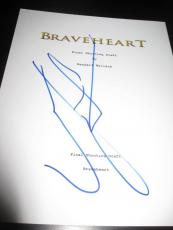 Mel Gibson Signed Autograph Movie Script Braveheart Full Script Rare All Pages
