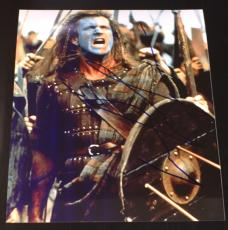 MEL GIBSON SIGNED AUTOGRAPH VERY RARE CLASSIC BRAVEHEART LEGEND 8x10 PHOTO COA