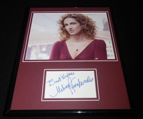 Melina Kanakaredes Signed Framed 11x14 Photo Display CSI:NY