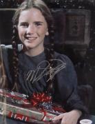 Melissa Gilbert Signed Little House RARE 8x10 Photo JSA