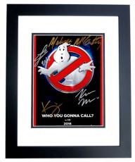 Melissa McCarthy, Kate McKinnon, Kristen Wiig, and Leslie Jones Signed - Autographed Ghostbusters 8x10 inch Photo BLACK CUSTOM FRAME - Guaranteed to pass PSA or JSA