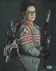 Melissa McCarthy Signed 11x14 Photo BAS Beckett COA Ghostbusters Picture Auto'd